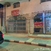 محل للايجار شارع مكه المكرمه مقابل المخلفي للصرافة