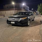 للبيع فورد اكس بلور مديل2012 ممشى 168 نظيف بوه الطقتين الي