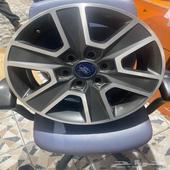 جنوط فورد f150موديل 2018 مقاس 18 اصلي وكاله