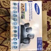للبيع 4 كمرات وجهاز DVR سامسونج جديده مع الاسلاك الرياض
