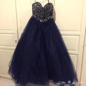 فستان كحلي مقاس سمول 8 من محل  ماركةاليس باريس شارع البيبسي