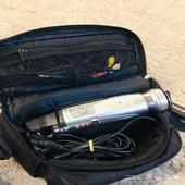 كاميرا فيديو النوع القديم ابو شريط (كاميرتين شغالة ونظيفة)