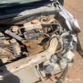 سياره افيو2011 مصدومه وجهيه قير مكينه ماجاهم شي
