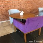 طاولات وكراسي كفي للبيع جديده