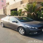 سيارة صغيرة كيا سيراتو 2018 KIA للبيع نظيفة ومشدودة