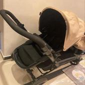 عربة اطفال توينز ماركة contours استخدام نظيف