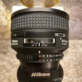 عدسة نيكون Nikon 85mm f 1.4D