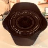 كاميرا fujifilm xt-2 مثل الجديدة مع العدسة
