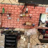 محل حلاقة جاهز للايجار