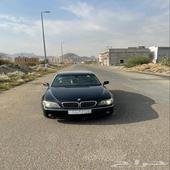 بي ام دبليو 740li بلوحة مميزة BMW