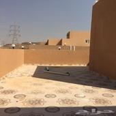 روف جديد حي الواحة(مخطط الفهد) 5غرف بيت شعر وسعر مناسب