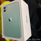 ايفون 11 مستخدم 3 شهور ومنحد عسعر مو اقل من 2700