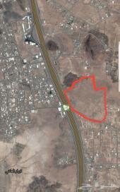 أرض خام ابيار الماشي على طريق الهجره النازل