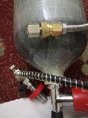اسطوانة اكسجين  جفتون بدون ناتوش للبيع