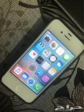 للبيع العاجل أيفون S4 ذاكرة 16 قيقا نظيف جدا
