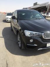 BMW X4 2016 ممشى قليل جدآ