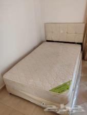 سرير مفرد و نص مع مرتبة سنتر هوم 300 ريال