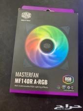 مروحة تبريد للكمبيوتر CoolerMaster MF140R RG