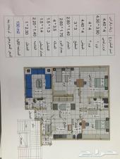 شقق من 4 غرف للبيع جدة حي المروه الحرمين2