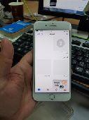 ايفون 8 بلس سعة 64 قيقا اللون الفضي شبة جديد