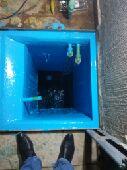 جميع أنواع العوازل غسيل خزانات المياة