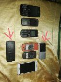 للبيع مجموع جوالات نوكيا Nokia