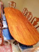 طاولة طعام  صناعة ماليزيه