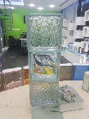 طوب زجاجي glass block