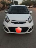 للبيع سياره كيا بيكانتو 2014