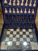 للبيع شطرنج رخام شغل يدوي