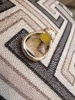 خاتم عقيق ليموني