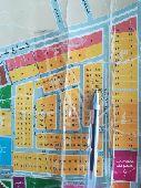 أرض شارع 25شرق مخطط درة الخليج مكتمل الخدمات