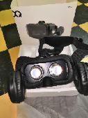 نظارة الواقع الافتراضي لتشغيل الافلام