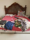 سرير بحاله ممتازه استخدام بسيط للبيع