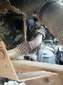 شاحنة اكتروس محروق قمارة موديل 2003
