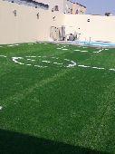 الياسمين العشب الصناعي والطبيعي