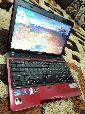 لاب توب Toshiba i5 لون احمر لامع مميز للبيع