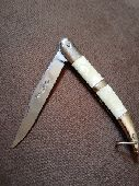 سكين مطويه ام غزال ألماني اصلي