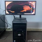 كمبيوتر مكتبي للبيع على السوم كل شيء موضح في الصور