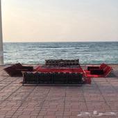 تاجير جلسات على البحر باليوم