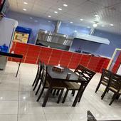 مطعم للتقبيل او للايجار جديد ومعدات جديده