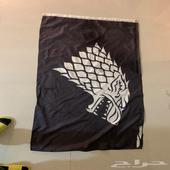 علم ستارك من قيم اوف ثرونز (صراع العروش)