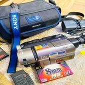 كاميرا فيديو سوني شريط 8