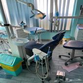 عدد 2 كرسي اسنان سيرونا مع السكشن والكمبروسر للبيع