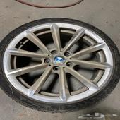 جنوط BMW نظيفة جدا
