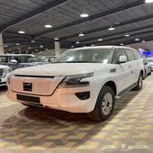 نيسان باترول SE2 سعودي جديد 2021 م ابيض   بيج