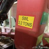 كرين للبيع ايطالي فاس 2.5 طن شبه جديد م2014 وصندوق 4 متر