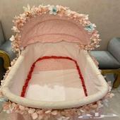 سرير اطفال مع الزينة ماركة جونيور من سنتر برينت