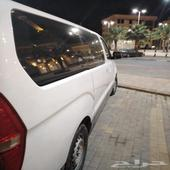 للبيع باص H1 هونداي مديل 2015 اللون ابيض على الشرط ماشي 500
