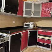 مطبخ نظيف صغير تقريبا أربعة أمتارالبيع بسبب النقل ب 600